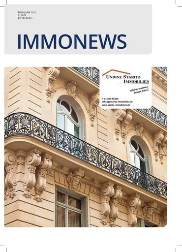 ImmoNews 2021 01 Magazin von Staritz Immobilien
